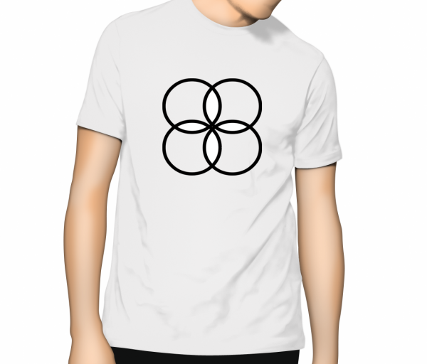 Cooloo Circles T Shirt - White
