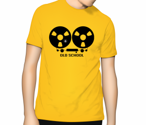 Reel to Reel T Shirt - Sunflower