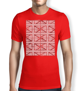 Union Jack - Red - T shirt